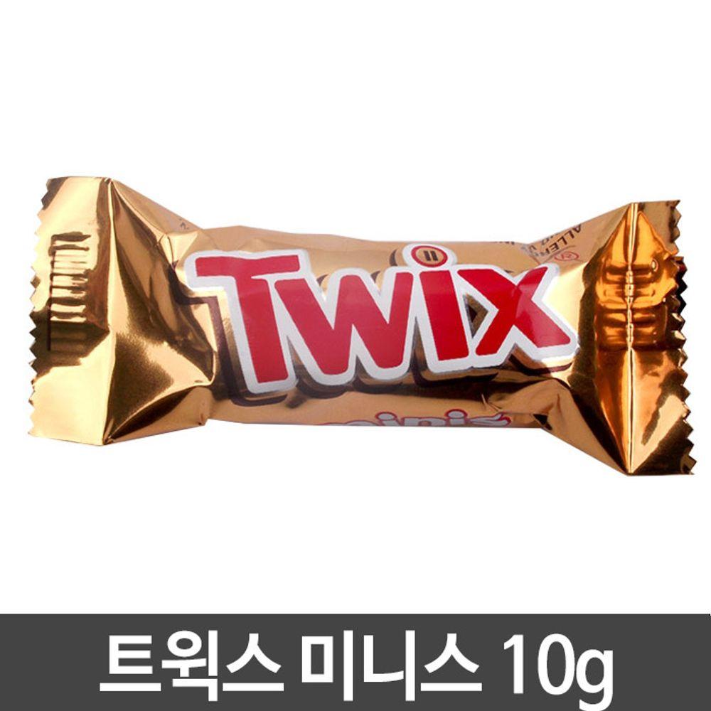 트윅스 미니스 밀크초콜릿땅콩 10g,트윅스,초콜릿,초콜렛,초코과자,트윅스미니스,간식,간식류