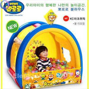 뽀로로볼하우스 스펀지공 아기공 소프트볼