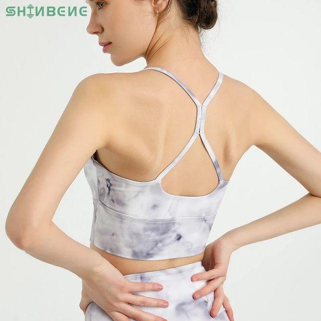 [해외] SHINBENE 넥타이 염료 버터 플라이 소프트 댄스 요가