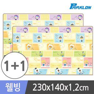 1+1 뽀로로카툰잡 웰빙 놀이방매트 230x140x1.2cm
