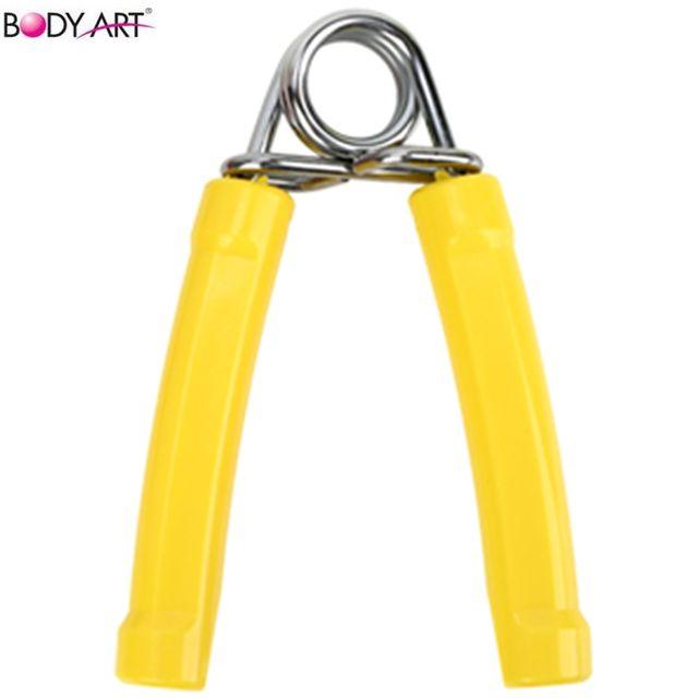 바디아트 손목운동 스프링 악력기 옐로우 B1671
