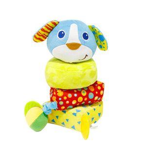 아기 유아 헝겊 장난감 링쌓기 강아지 어린이날 선물