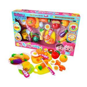 싹둑 과일 야채놀이 장난감 주방놀이 요리놀이