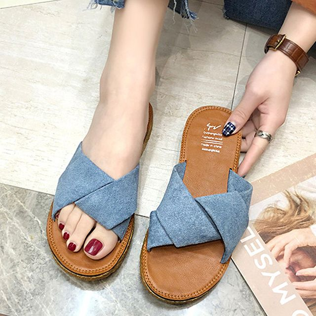 W 여성 인기 슈즈 슬리퍼 학생 신발 여름 패션 신발