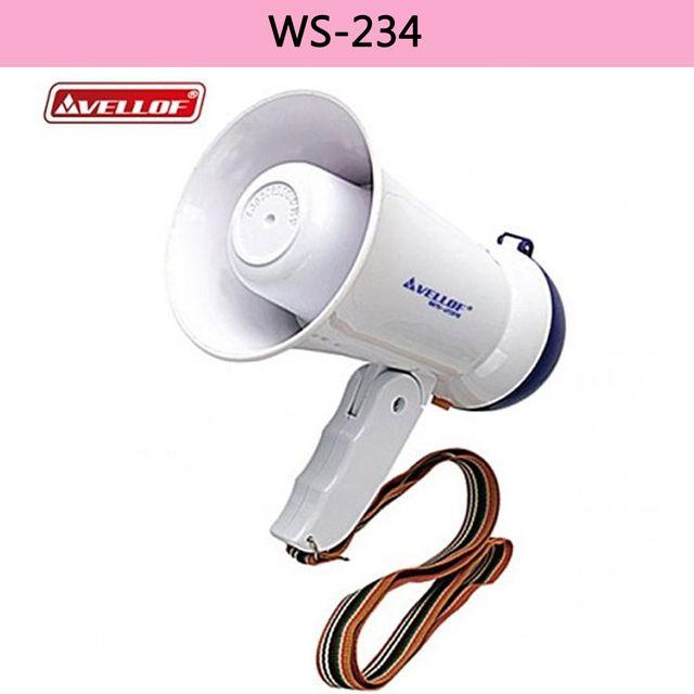 WS LED 미니메가폰 AA-6 1개