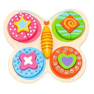 어린이집 교구 놀이 유아 아기 장난감 블록 나비 퍼즐