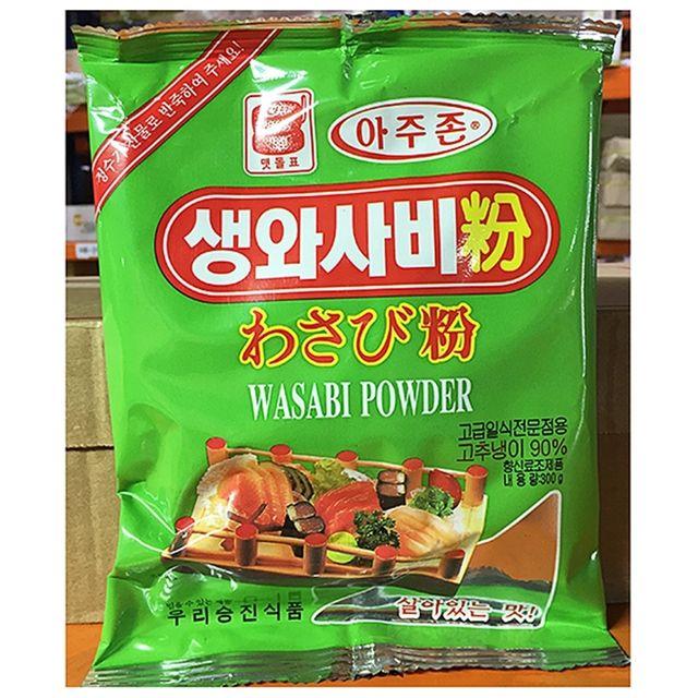 와사비가루 고추냉이 식자재도매 (300gX4개) 맷돌