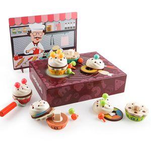 케이크 만들기 도형끼우기 교구 역할놀이 장난감