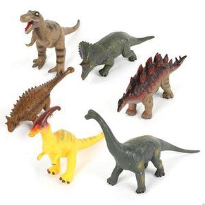공룡인형 세트 장난감 피규어 소프트 공룡 모형 6p