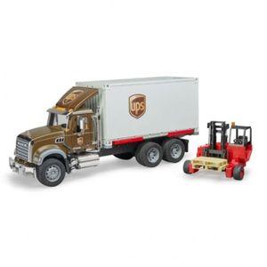 브루더 맥 UPS 물류트럭 피규어 자동차 장난감