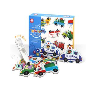 세이펜 호환 자석 퍼즐 놀이 탈것 자동차 장난감 완구