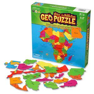65조각 직소퍼즐 - 아프리카 지도 (지도퍼즐)