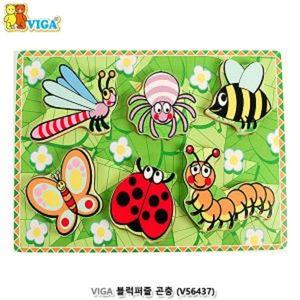 곤충퍼즐 비가 VIGA 블럭퍼즐 곤충 곤충블럭퍼즐