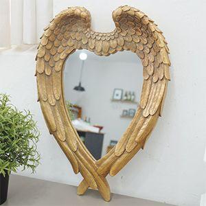 빈티지 천사 날개 벽거울