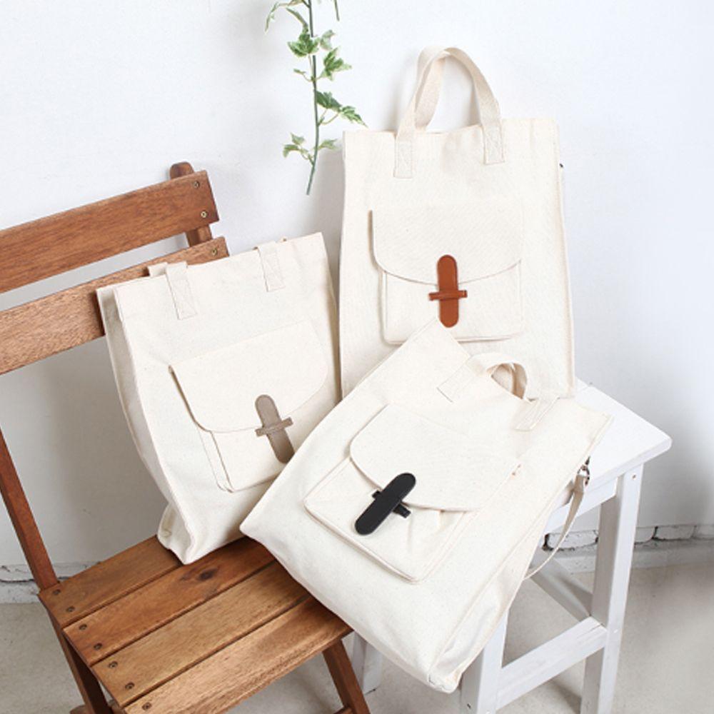 적당한 사이즈 캐주얼 패션 심플 에코백 크로스가방