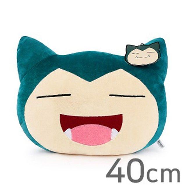 포켓몬스터 잠만보 웃는얼굴 쿠션 40cm