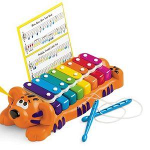 어린이집 유치원 음악 악기 놀이 교구 호랑이 실로폰