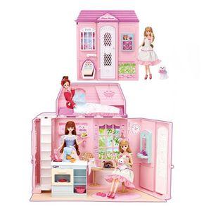 여자아이 생일 선물 미미 놀러와 미미 이층집 세트