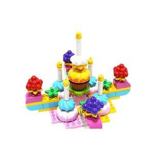 유아 장난감 두두 타운 생일 케이크 어린이 놀이 선물