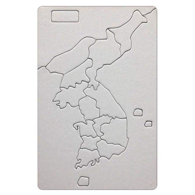 1500 그리기퍼즐 한국지도 대