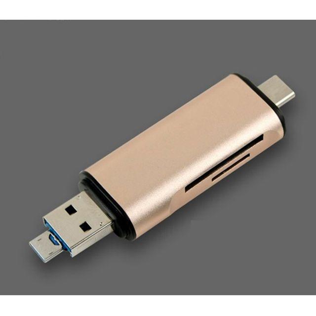 USB SD Micro SD USB3.1 멀티 카드 리더기