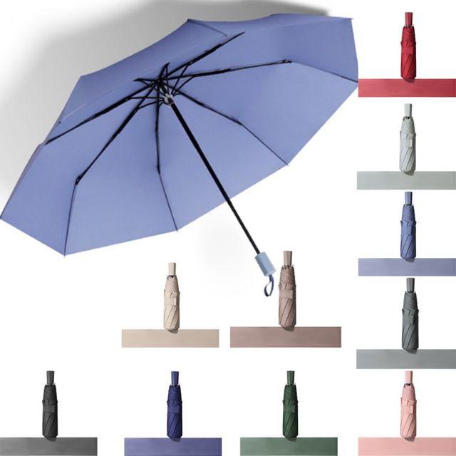 W 감성 모던컬러 3단우산 여성 남성 접이식 우산 양산