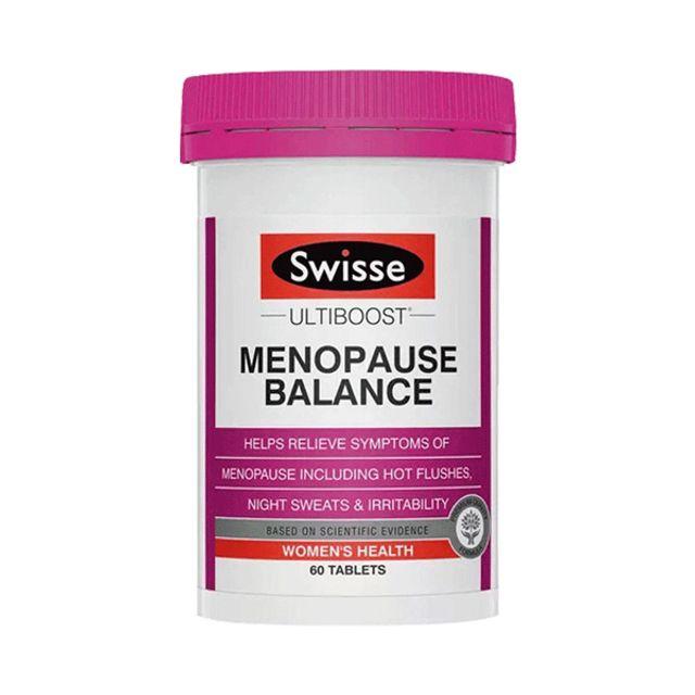 [해외] Swisse 스위스 메노포즈 여성 발란스 60정