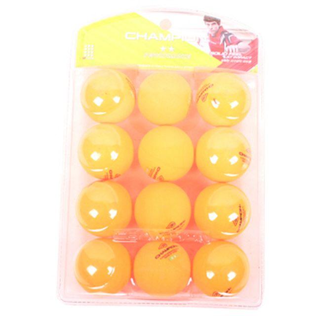 탁구공(12P)(오렌지 흰색 램덤발송)