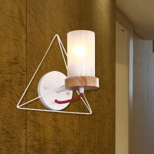캠핑(삼각) LED벽등 무드등 (블랙/화이트) / 전구포함가