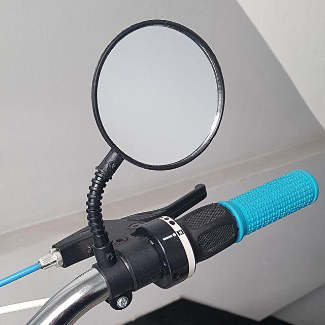 자바라형 자전거 백미러 1P 자전거백밀러 자전거거울