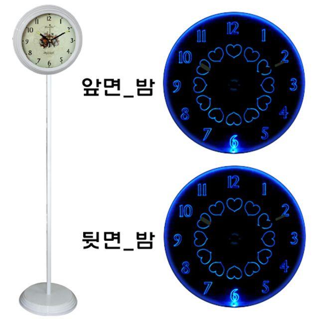 韩国直邮GB 6801两面取针等台灯表 白色蓝光灯