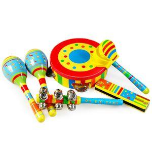 고급 원목 리듬 악기 놀이세트 장난감 연주 음악 교구