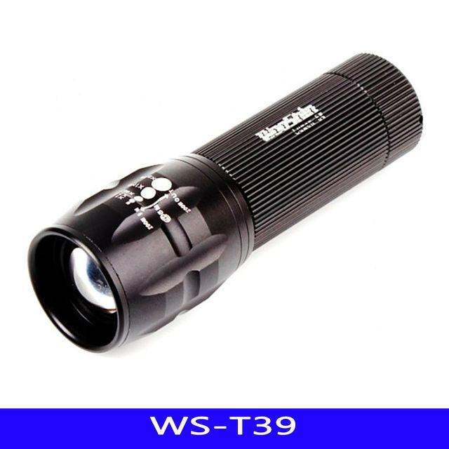 WS LED 후레쉬 휴대용 낚시 AAA-3 1EA