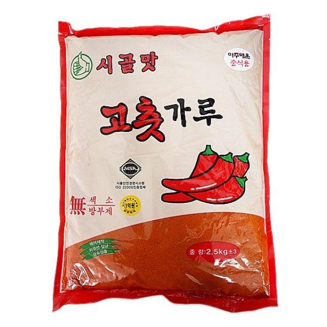 시골맛 아주매운 중식용 고추가루 2.5kg,고추가루,고추,동성식품,식자재,농산물