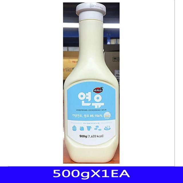 가당 연유 빙수재료 리치스 500gX1EA
