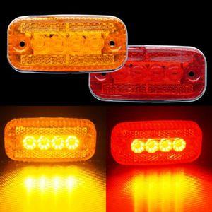 국제산업 24V LED 4발 사이드등 차폭등