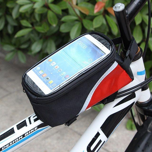 [현재분류명],전기종가능한 콤팩트사이즈 자전거 폰가방,자전거가방,핸드폰가방,암밴드,자전거용품