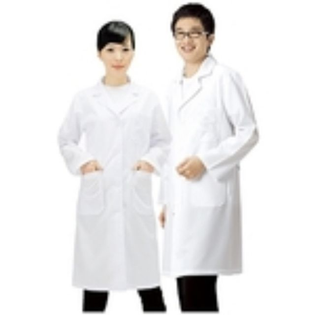 [F9AAF1] 실습가운 실험실가운 병원가운 의사가운 실험복