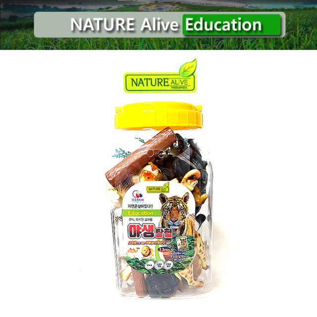 야생탐험(대) 자연은살아있다 학습완구 교육완구