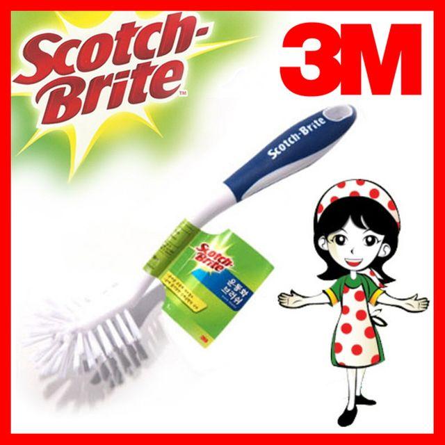 W 3M 신발 운동화세탁 브러시 쓰리엠 청소용픔