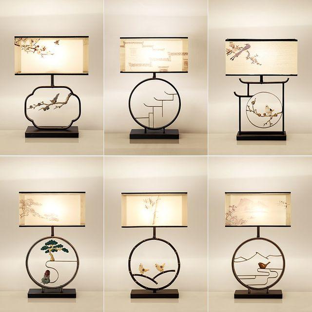[해외] 인테리어 스텐드 조명 램프 중국 스타일