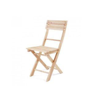 내츄럴 원목 접이식 의자 大(2입)