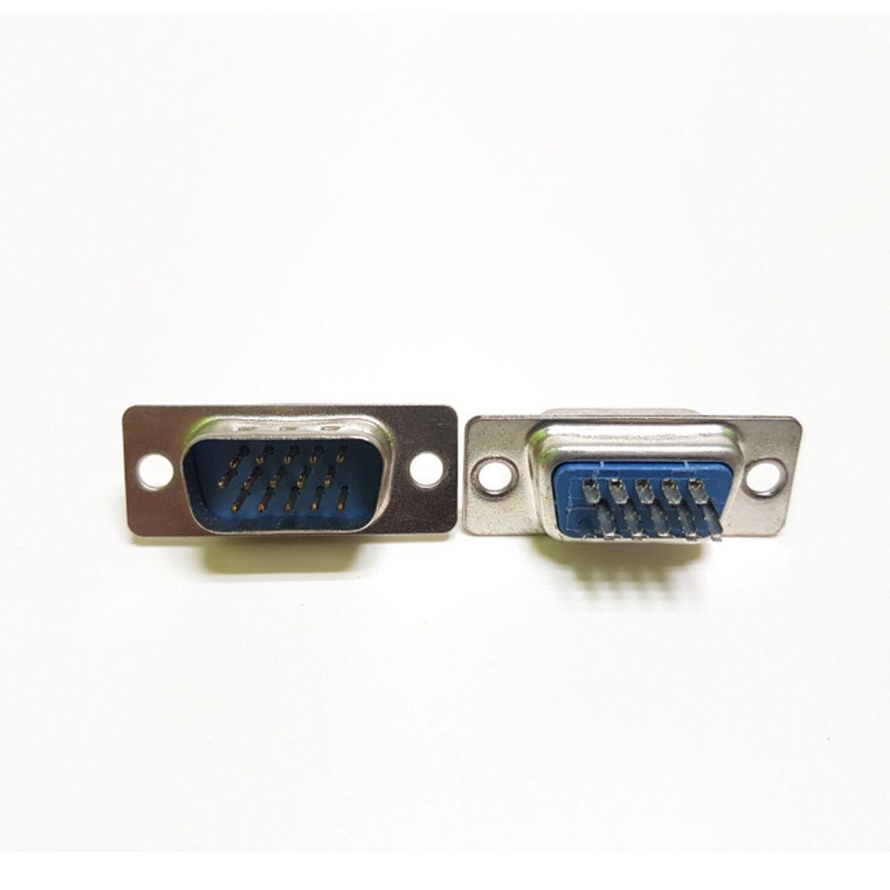 RGB 15핀 커넥터 납땜용 D-SUB VGA