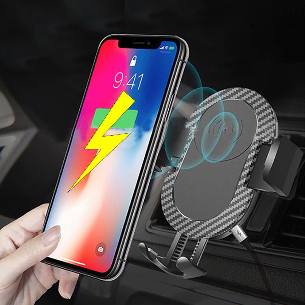 핸드폰 스마트폰 차량용무선충전기 오토킹