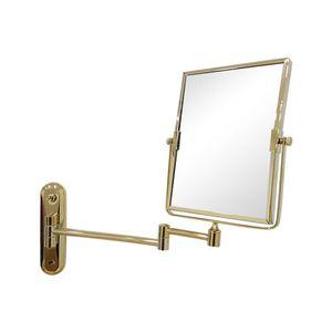 티니 사각 면도경 골드 면도거울 욕실거울 벽거울