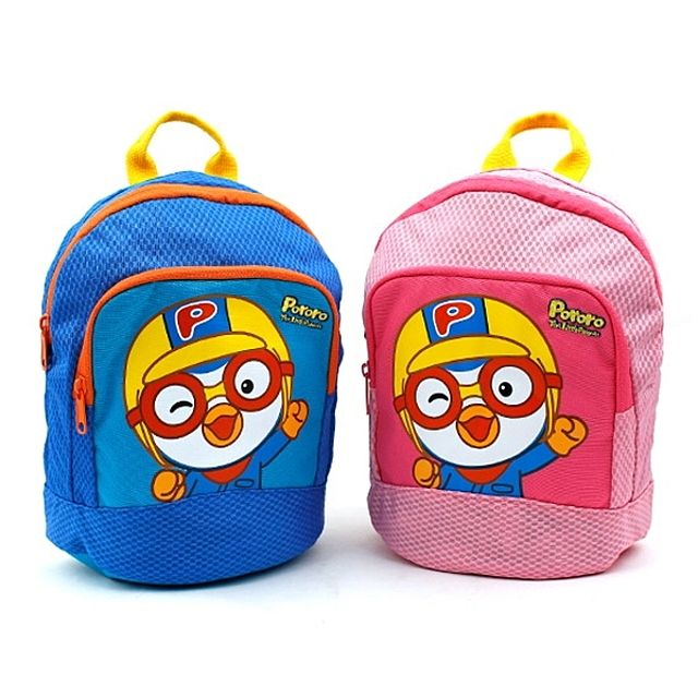 어린이 가방 PR0203-뽀로로매쉬비치백팩