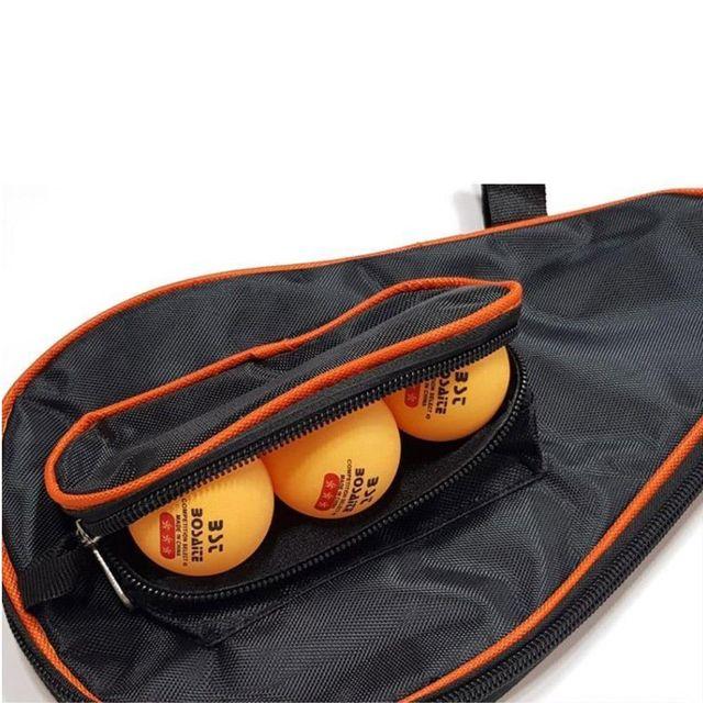 (4개묶음)탁구라켓가방 케이스 탁구공 동시수납