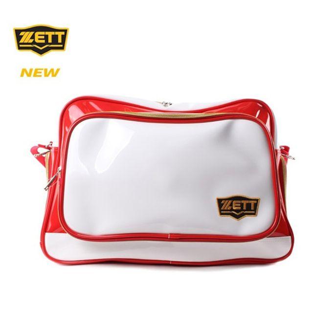 ZETT 제트 야구 개인장비 가방 BAK-517 레드 화이트