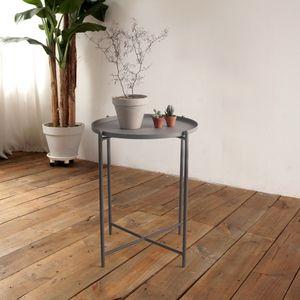 조립식 카페 테이블(그레이)