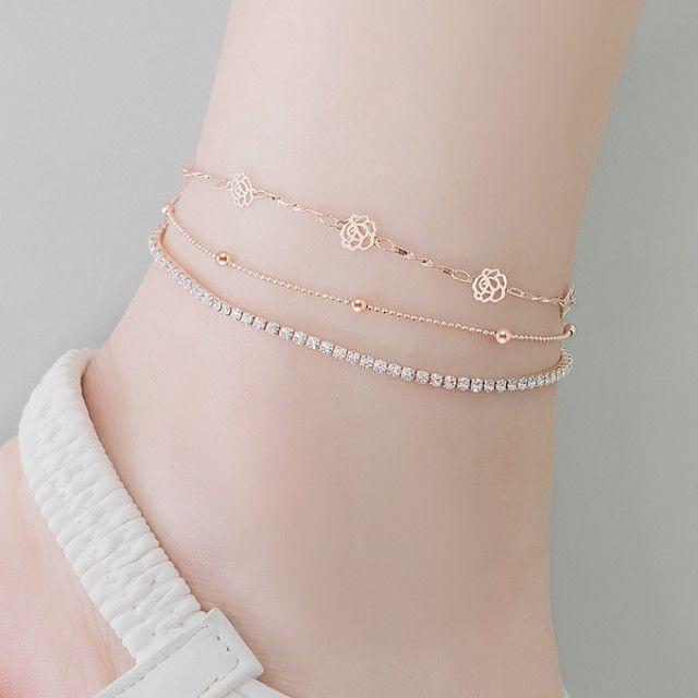 【韩国直邮】(B   A)玫瑰宝石套装